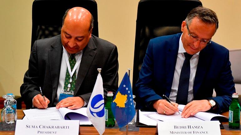 Ministri Bedri Hamza takon Presidentin e BERZH-it Suma Chakrabarti