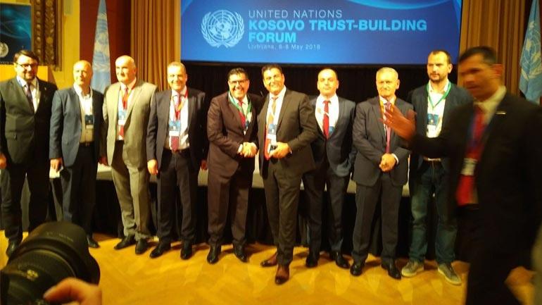 Lutfi Haziri po merr pjesë në Konferencën e OKB'së në Ljubljanë