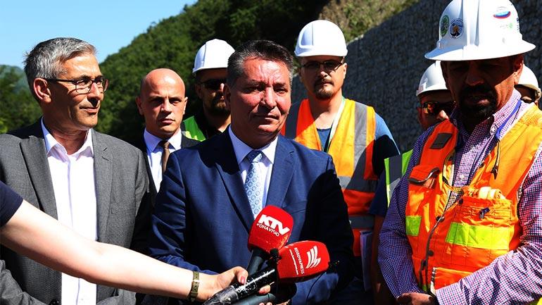 Hapet për qarkullim rruga nacionale N2, segmenti Prishtinë-Hani i Elezit
