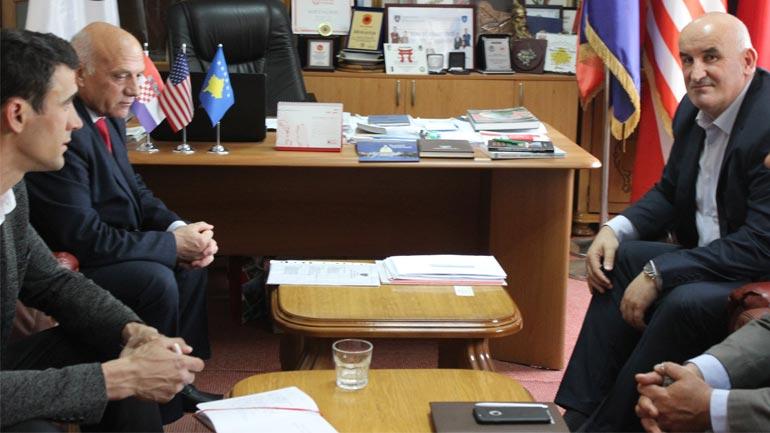 Kryetari i Vitisë priti në takim zëvendësministrin e MKRS-së