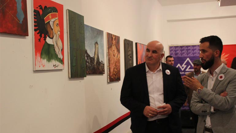 """Viti: Hapet ekspozita e artit pamor kushtuar """"Vitit të Gjergj Kastriotit"""""""