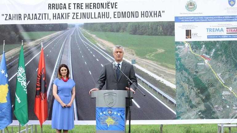 Presidenti Thaçi: Kosovës po i japin pamje evropiane autoudhat moderne