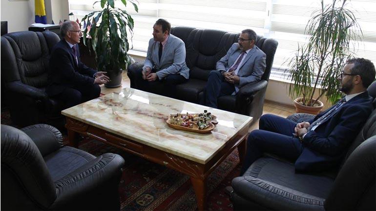 UKZ dhe Gjykata Themelore në Gjilan shohim mundësitë e thellimit të bashkëpunimit