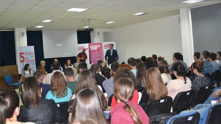 Në UKZ është mbajtur sesioni informuese i programit të Zyrës së BE-së në Kosovë dhe Zyrës së Erasmus+