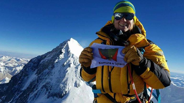 Uta shpalos logon e Gjilanit në Lhotse, Haziri ndihet krenar
