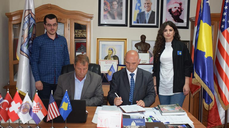 KOK-u nënshkroi memorandum bashkëpunimi me Komunën e Vitisë për bursistët olimpikë