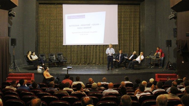 Dëgjim Publik me qytetarët nëpër pronat e të cilëve do të kalojë Autoudha Prishtinë – Gjilan- Dheu i Bardhë