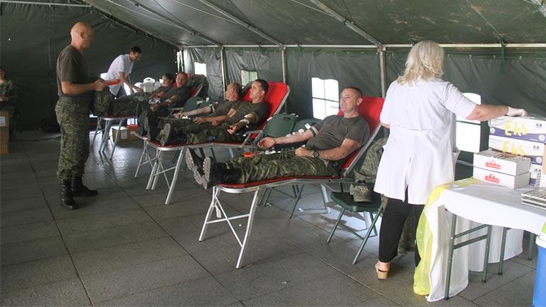 FSK-ja mbështet Qendrën Kombëtare të Transfuzionit të Gjakut