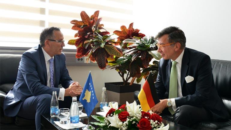 Ministri Hamza: Gjermania partner strategjik i Kosovës