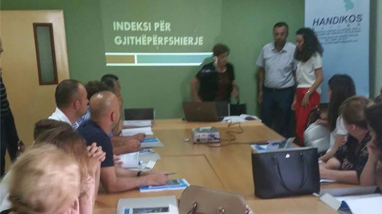 """Handikos organizoi punëtorinë dyditore """"Indeksi për Gjithëpërfshirje"""""""