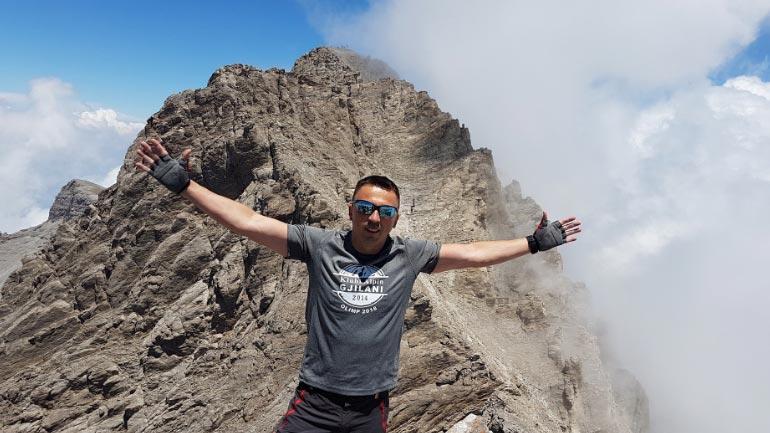 Alpinisti nga Bujanoci, pushton majën e dytë më të lartë në Ballkan