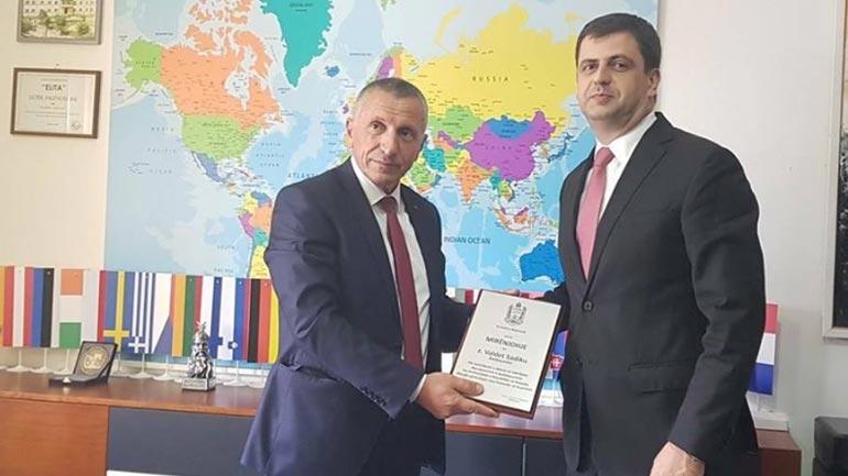 Kamberi: Valdet Sadiku ka dhënë kontribut për komunën e Bujanocit