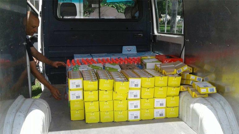 U ndihmuan 29 familje me ndihma në veshmbathje dhe gjëra ushqimore
