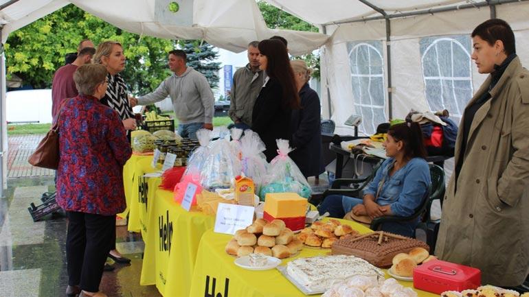 Ekspozojnë prodhimet e tyre, fermerët përfitues të fondeve gjermane