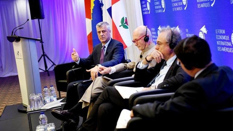 Thaçi: Vetëm një Kosovë dhe një Serbi evropiane mund të perëndimizojnë rajonin