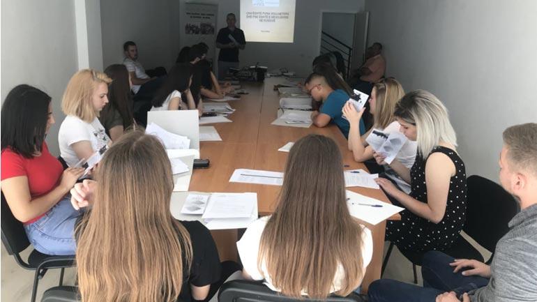Në Gjilan trajnimet për vullnetarizmin vazhdojnë edhe këtë vit