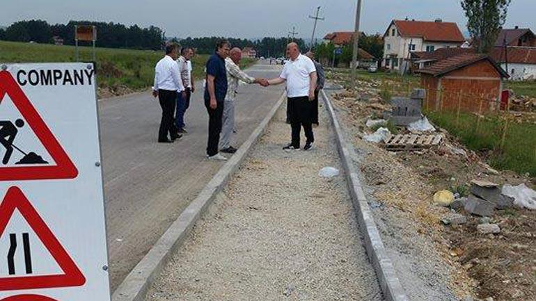 Kryetari i Vitisë inspektoi punët që po kryhen në disa projekte infrastrukturore