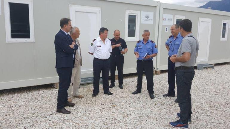 Zëvendësministri Izmi Zeka takoi eprorët e lartë të Policisë në Gjirokastër