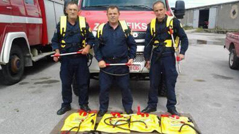 Furnizohet njësiti për zjarrfikje dhe shpëtim me paisje të nevojshme për fikjen e zjarrëve