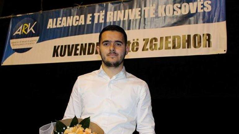 Arlind Vokshi zgjedhet nënkryetar i të Rinjve te Aleancës për Ardhmërinë e Kosovës në nivel vendi