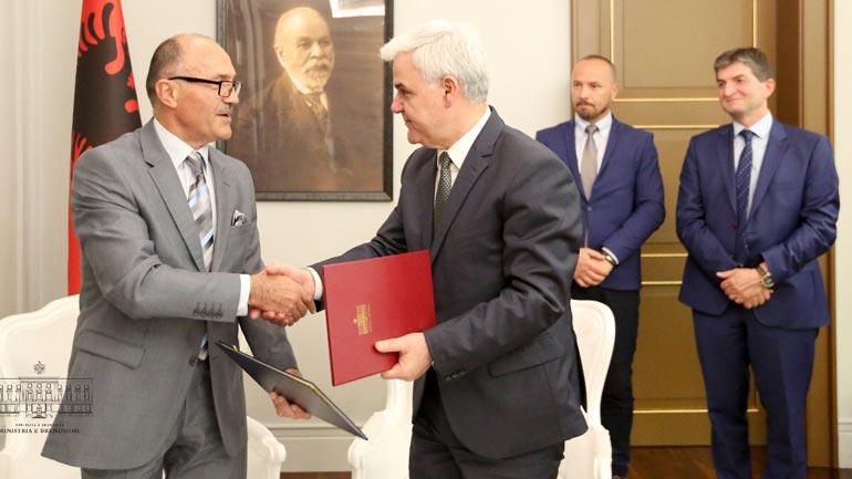 Kosova dhe Shqipëria nënshkruajnë marrëveshje në fushën e forenzikës