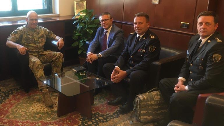 Kosova dhe Italia thellojnë bashkëpunimin në siguri dhe mbrojtje