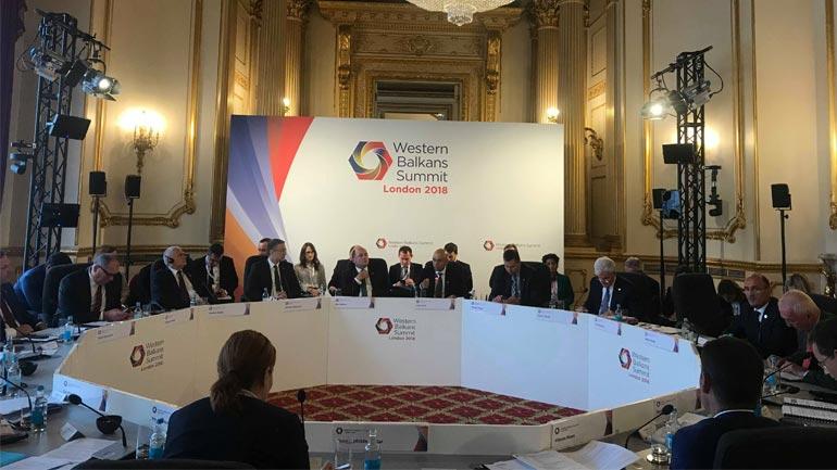 Ministri Gashi po merr pjesë në Samitin e Londrës në kuadër të Procesit të Berlinit