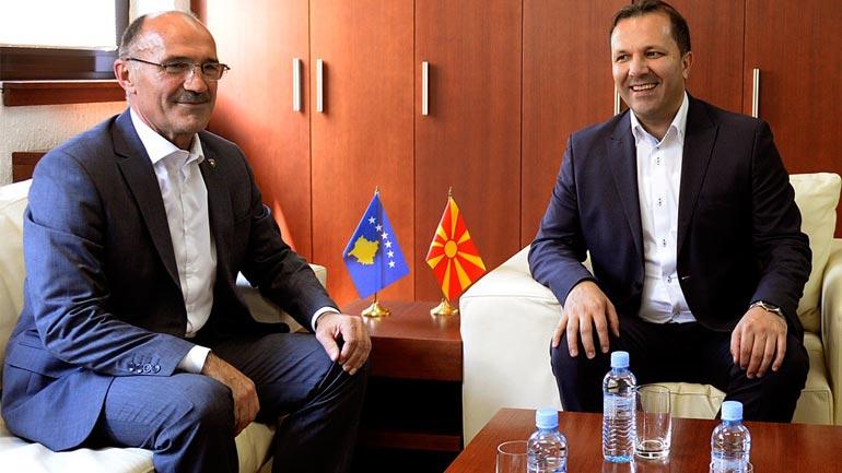 Ministri Gashi takoi homologun e tij në Republikën e Maqedonisë