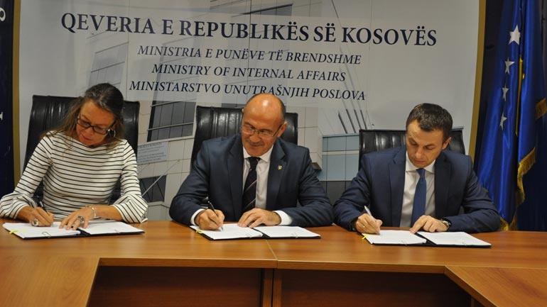 Nënshkruhet marrëveshje bashkëpunimi në mes të MPB, MPMS dhe UNDP