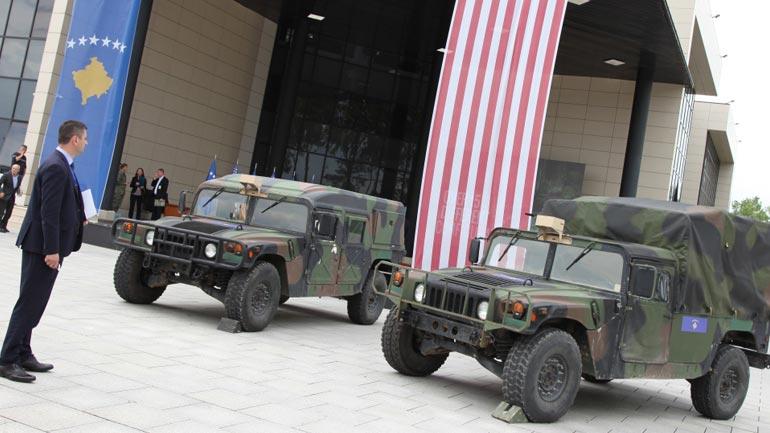 "FSK-ja pajiset me automjete taktike amerikane ""Hamvi''"
