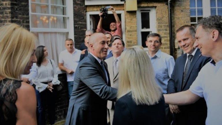 Kryeministri Haradinaj në takim me bashkatdhetarët e Mbretërisë së Bashkuar