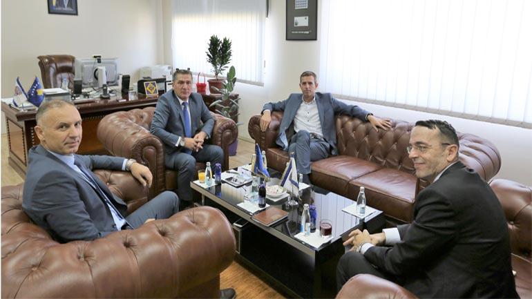 U.d. Drejtori i Përgjithshëm i PK-së takon Drejtorin e Përgjithshëm të Doganës