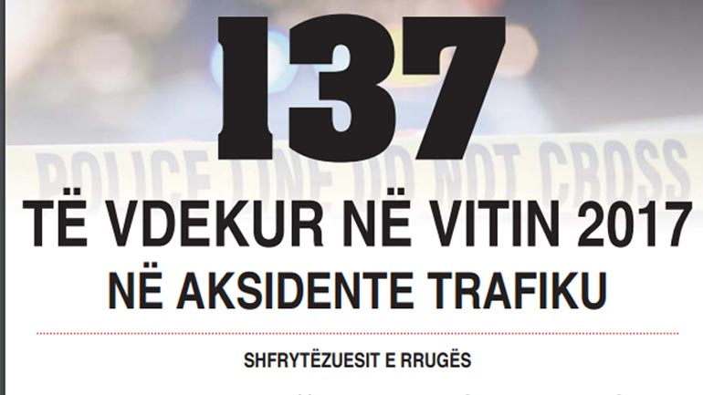 """Policia me projekt sensibilizues """"Për një vit më të sigurt në trafik""""!"""
