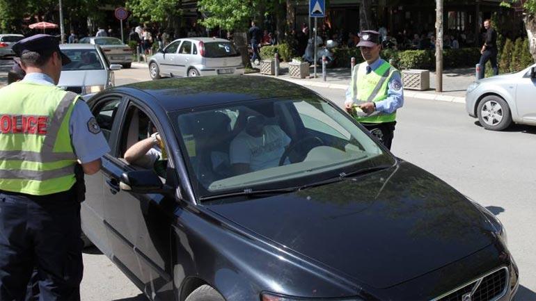 Një javë me 26 aksidente trafiku me 874 tiketa gjobitëse