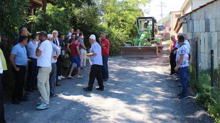Ka filluar asfaltimi i rrugës Lubishtë-Beguncë