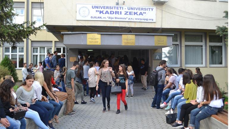 UKZ hap dyert për regjistrim të studentëve të rinj