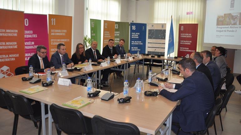 Zëvendësministri Xhemajlaj mori pjesë në takimin e bordit të Programit të Tregut Aktiv të Punës 2