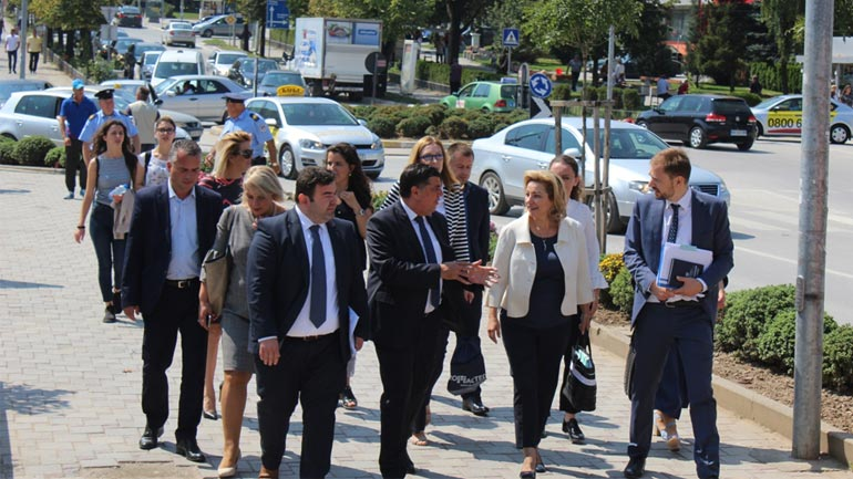 Apostolova konfirmon mbështetjen për Gjilanin dhe komunat e Anamoravës