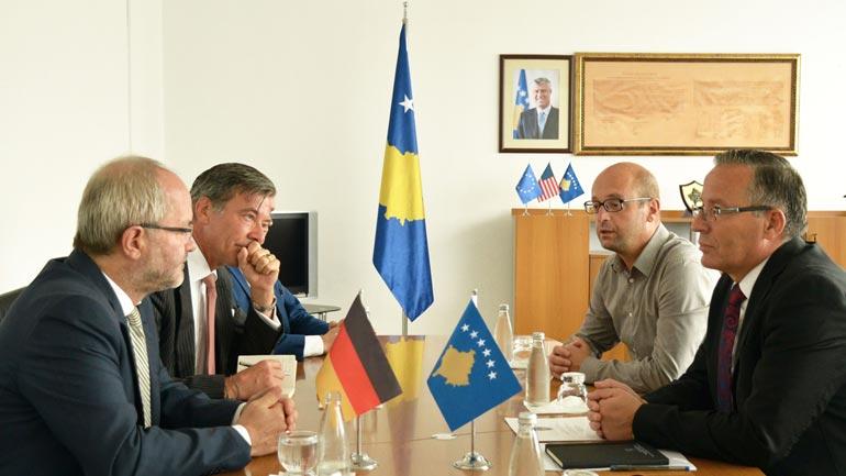 MF: Deputeti i Bundestagut gjerman Volkmar Klein vlerëson punën e Ministrisë së Financave