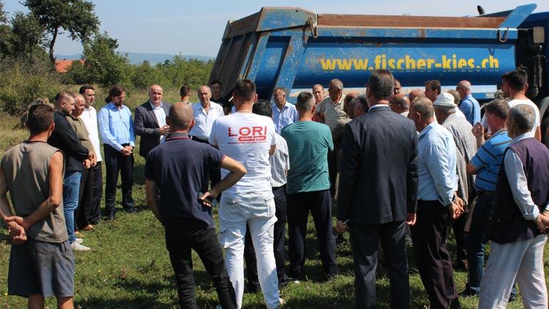 Në Sadovinë të Jerlive fillojnë punimet në ndërtimin e fushës ndihmëse të futbollit
