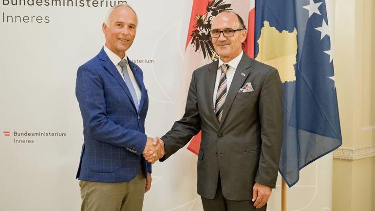 Ministri Gashi po qëndron në një vizitë zyrtare në Austri
