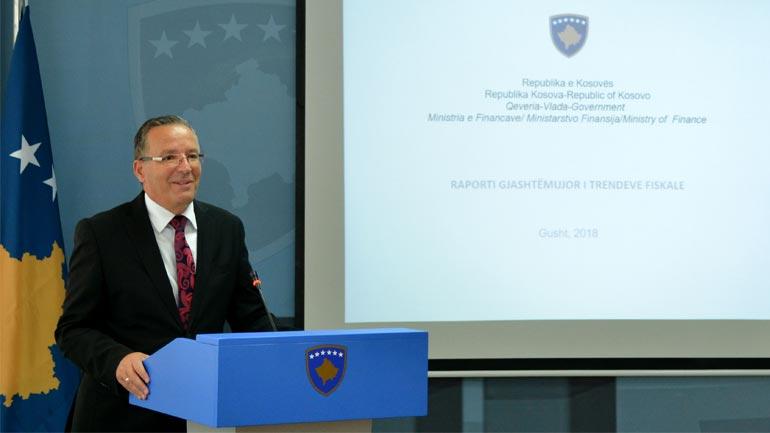 Ministri Hamza: Kosova ka stabilitet makro fiskal