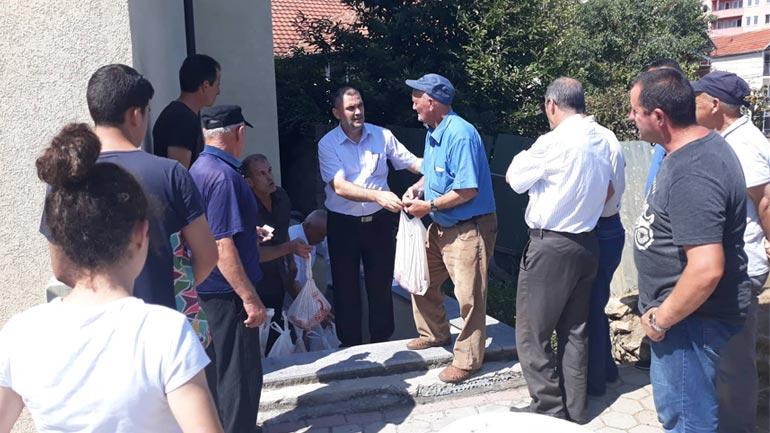 KBI-ja e Gjilanit vazhdon t'u dalë në ndihmë kategorive të ndryshme shoqërore