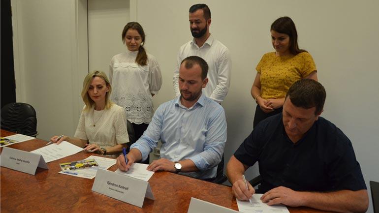 Nënshkruhet memorandum mirëkuptimi në vlerë prej 100 mijë eurosh