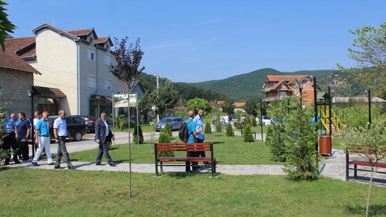 Haziri: Pogragja e solli kulturën e mirëmbajtjes së hapësirave publike nga Zvicra