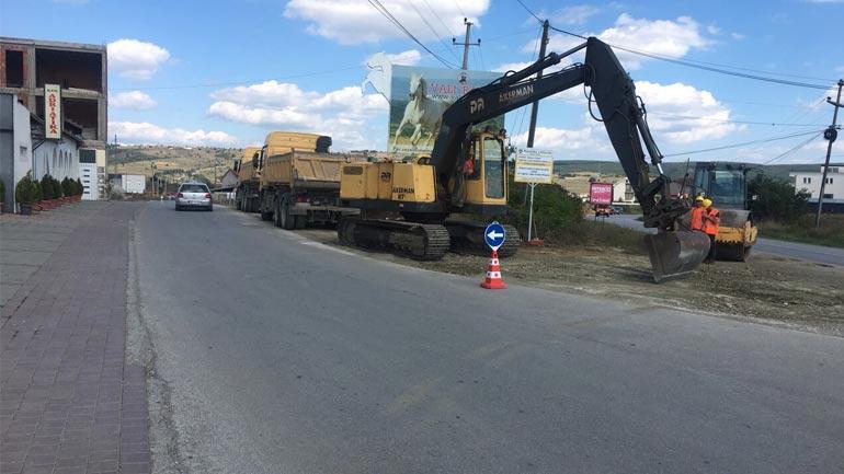 Nis asfaltimi i rrugës së Përlepnicës