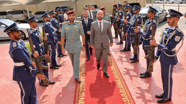 Zëvendësministri Shkodra merr përkrahje nga Emiratet e Bashkuara Arabe për anëtarësimin e Kosovës në INTERPOL