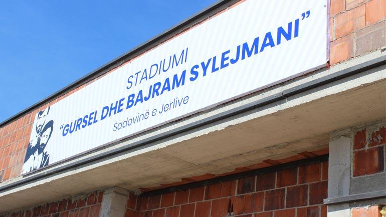 Përkujtohen dëshmorët Gursel e Bajram Sylejmani, stadiumi në Sadovinë të Jerlive merr emrin e tyre