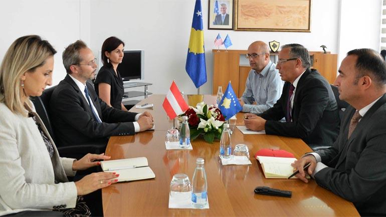 Ministri Hamza: Austria partner strategjik i Kosovës