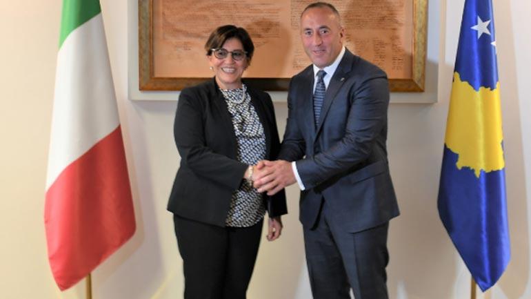 Haradinaj: Italia ka luajtur rol të rëndësishëm në të gjitha etapat e shtetndërtimit